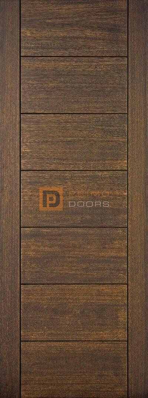 8' Mahogany 7 Panel Solid Wood Barn Door – 3-0x8-0_Mahogany_7_Panel