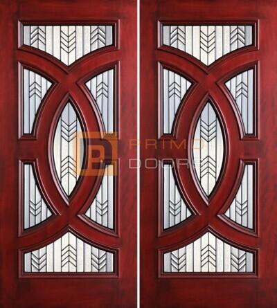 6-8 Cosmopolitian double doors PD8025-24 CB & GCB