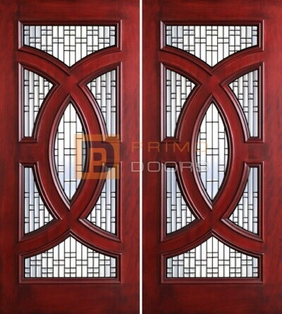 6-8 Cosmopolitian double doors PD8025-25 CB & GCB