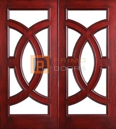 6-8 Cosmopolitian double doors with T