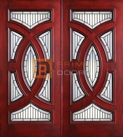 6-8 Cosmopolitian double doors with T PD8025-22 CB & Granite
