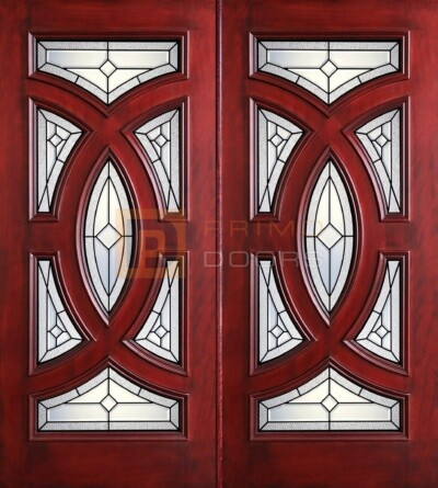6-8 Cosmopolitian double doors with T PD8025-23 CB & Granite