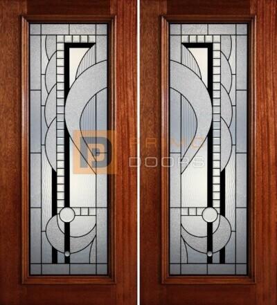 6-8 full lite double doors PD410