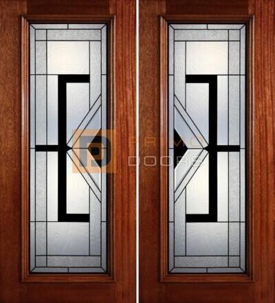 6-8 full lite double doors PD411