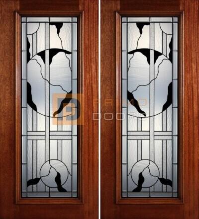 6-8 full lite double doors PD413