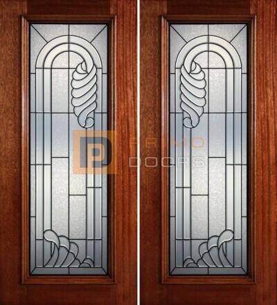6-8 full lite double doors PD414