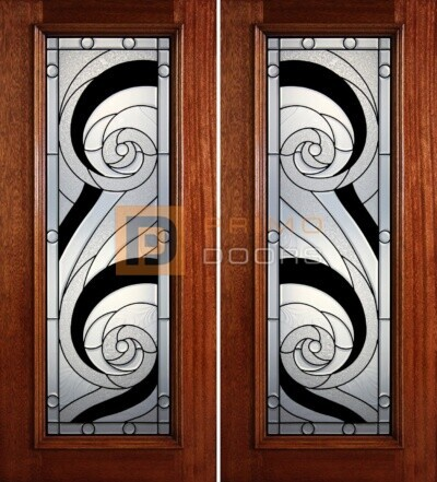 6-8 full lite double doors PD416
