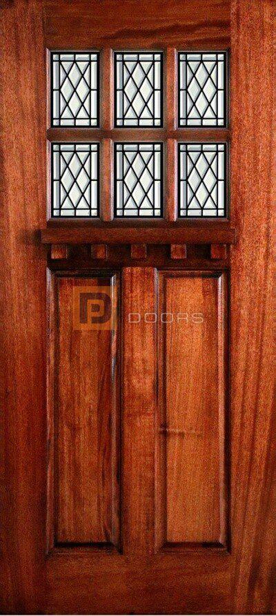 Arlene 3-0 x 6-8 Craftsman Door with PD 8022-10 All CB