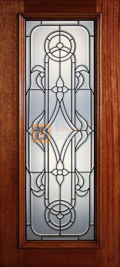 Full Light 6' Mahogany Front Door - PD 24 CBCHDG
